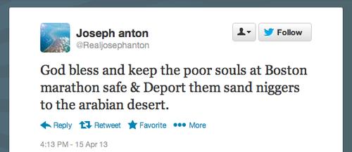 Joseph Anton - Blaming Muslims