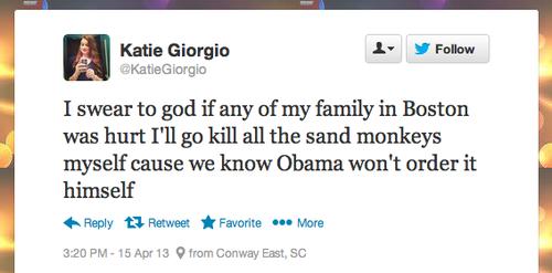 Katie Giorgio - Blaming Muslims - 2