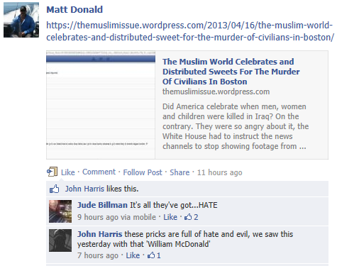 Matt Donald - Muslim World Celebrates
