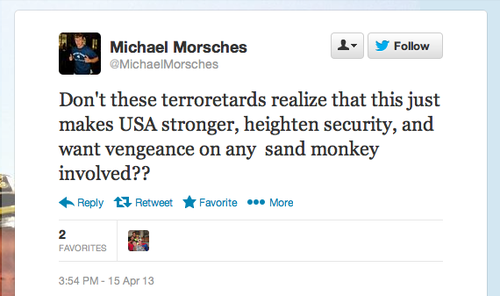 Michael Morsches - Blaming Muslims