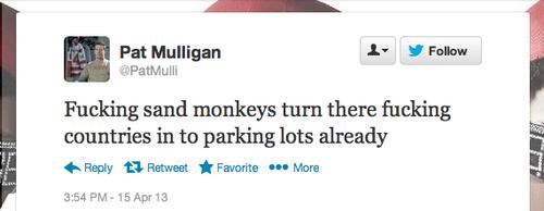 Pat Mulligan - Blaming Muslims